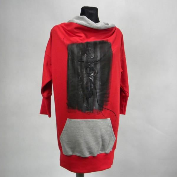 Sukienka tunika rozmiar-M
